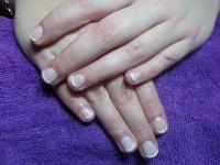 foto french manicure gelpolis na