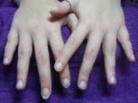 foto french manicure gelpolish